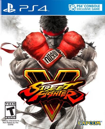 "Street Fighter V ستكون اول لعبة تحمل شعار ""PS4 Console Exclusive Game"" بغلافها"