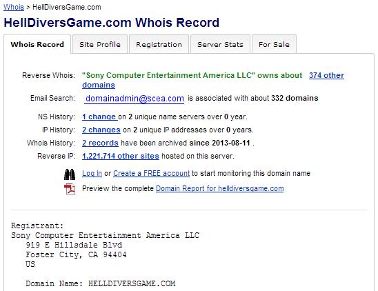 """SONY تسجل الموقع التجاري """"Helldivers"""" – ترو جيمنج"""