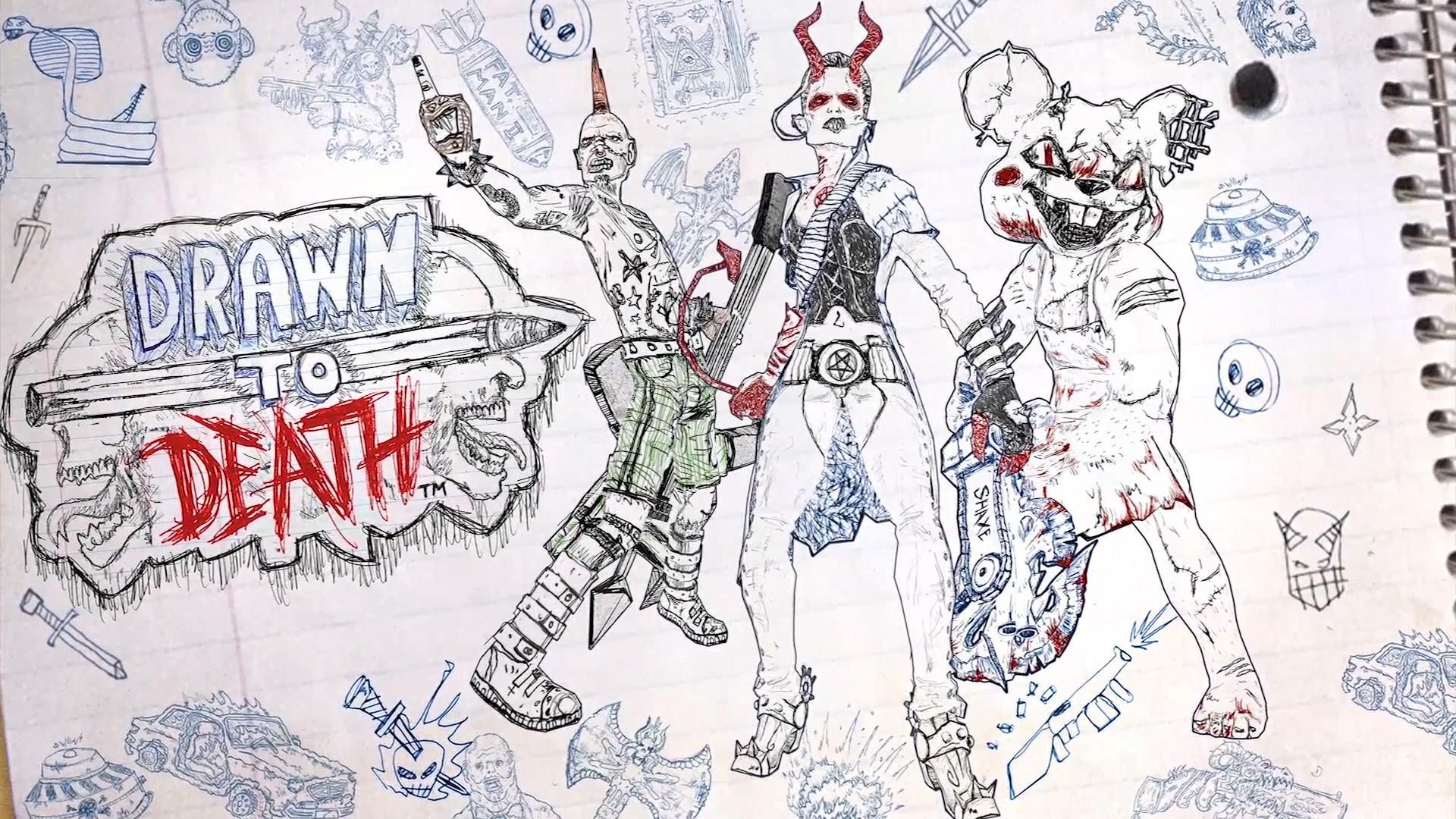 بإمكانكم الأن التسجيل للحصول على كود بيتا لعبة Drawn to Death