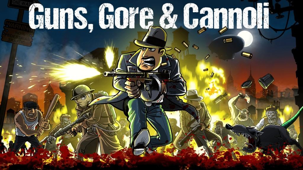Guns, Gore and Cannoli With Logo