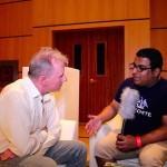 جيم راين في لقاء سابق مع مدير الشبكة محمد البسيمي