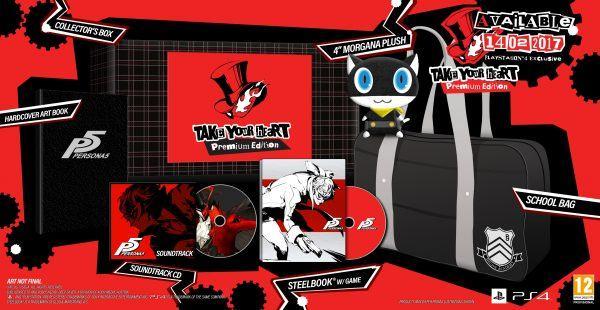 "Persona 5 تحصل على موعد إصدار غربي ""14 فبراير"""