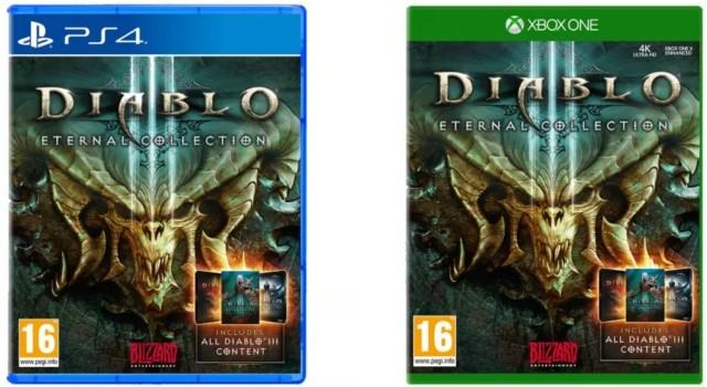 رصد لعبة Diablo III: Eternal Collection بمتاجر البيع