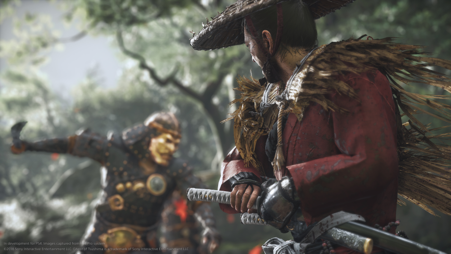 Ghost of Tsushima screen