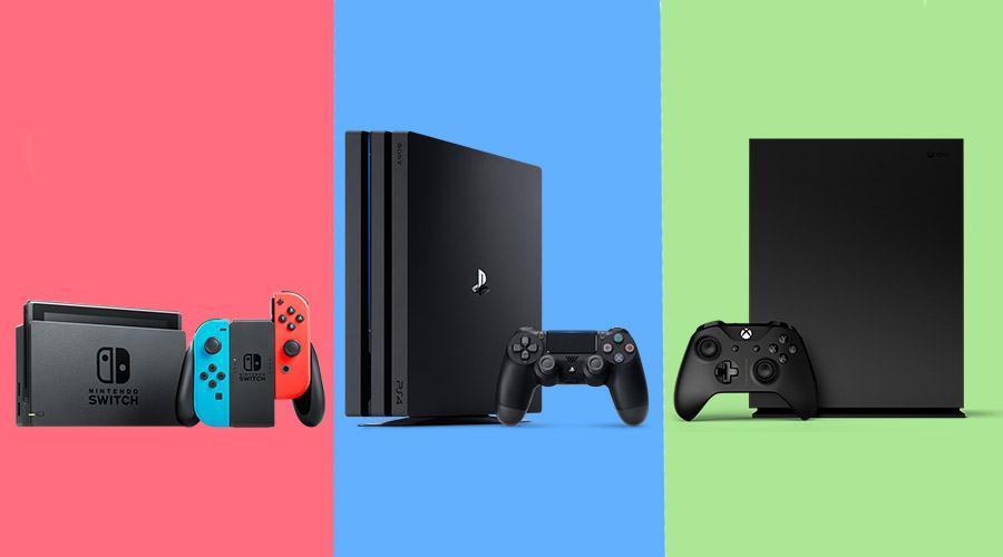 الـNintendo Switch ينهي العام كأكثر xbox-one-x-ps4-pro-n