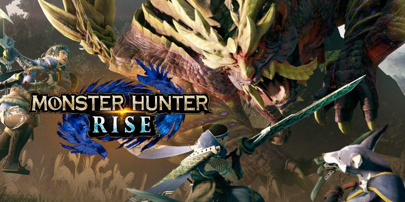 صورة الإعلان عن حدث رقمي لألعاب Monster Hunter Rise و Monster Hunter Stories 2 في 27 آبريل